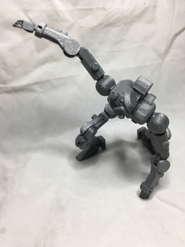 F.R.A.M.E core- robot action figure  3D Print 139681