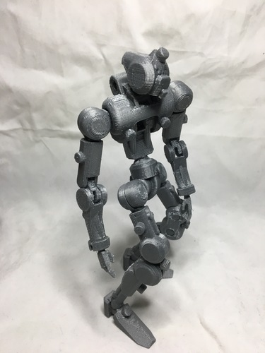 F.R.A.M.E core- robot action figure  3D Print 139682