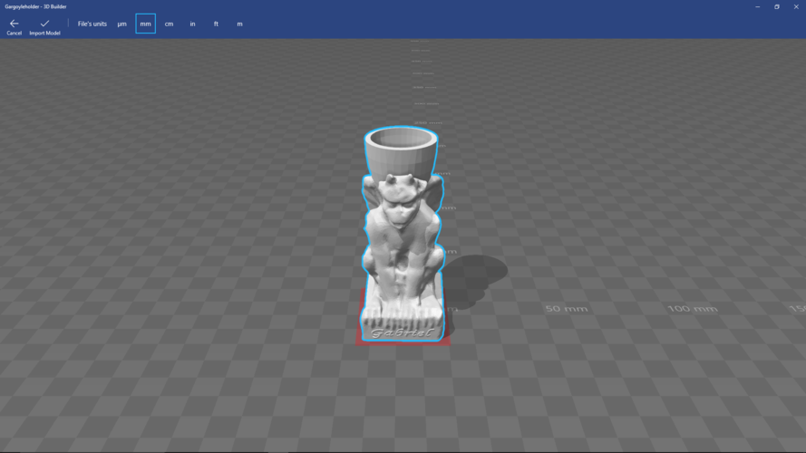 gargoyle candle holder 3D Print 139683