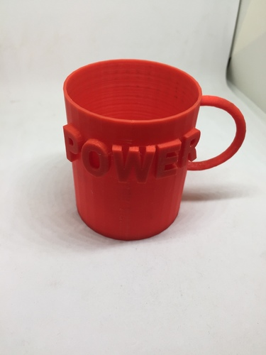 Cup of Power! 3D Print 139750