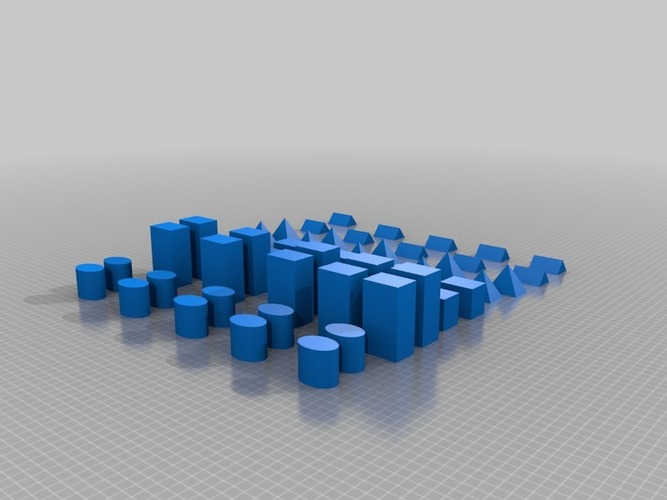 Toy Blocks for kids 3D Print 13976