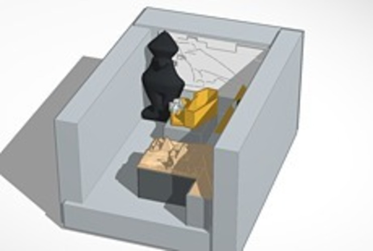 The Tomb of Somebody's  Mummy 3D Print 13977