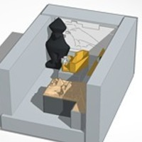 Small The Tomb of Somebody's  Mummy 3D Printing 13977
