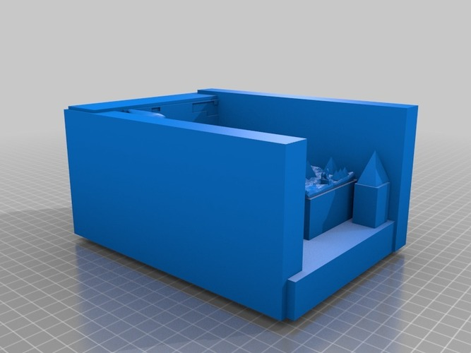 The Tomb of Somebody's  Mummy 3D Print 13978