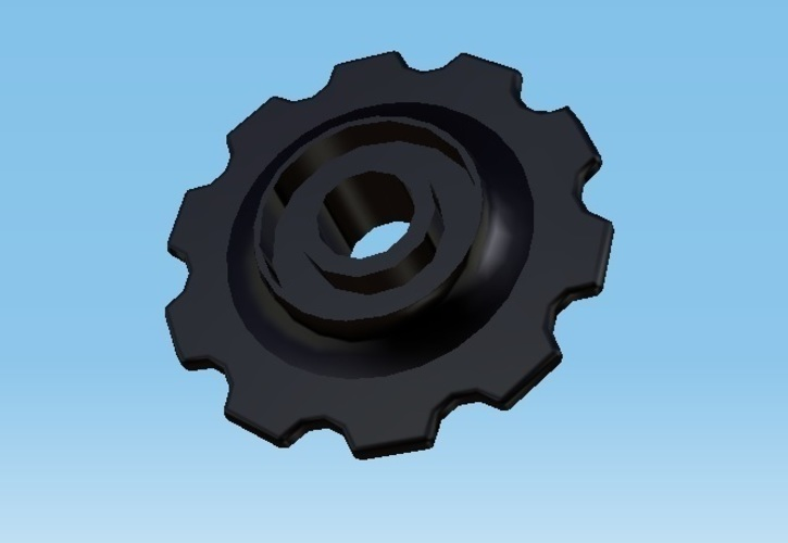 Rear derailleur wheel 3D Print 139783