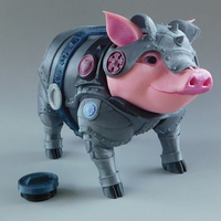 Small Sir Pigglesby (a most noble piggy bank) 3D Printing 139814