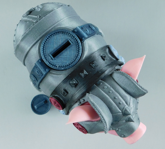 Sir Pigglesby (a most noble piggy bank) 3D Print 139817