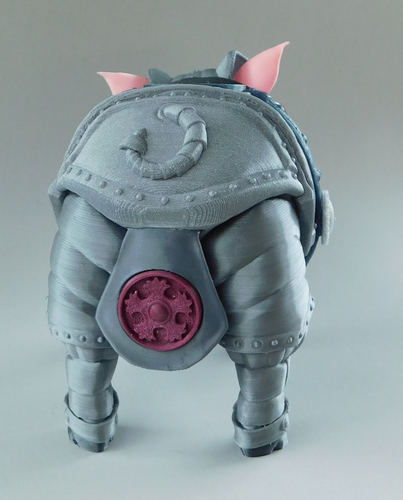 Sir Pigglesby (a most noble piggy bank) 3D Print 139820