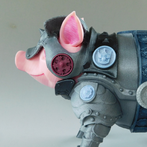 Sir Pigglesby (a most noble piggy bank) 3D Print 139823