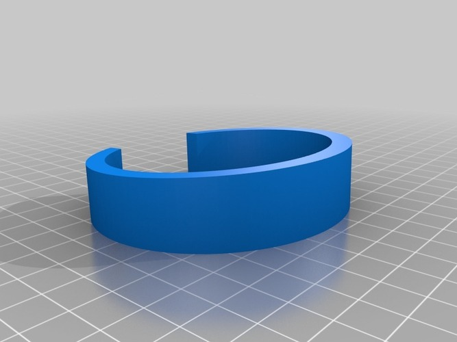 My Customized Bracelet 3D Print 13995