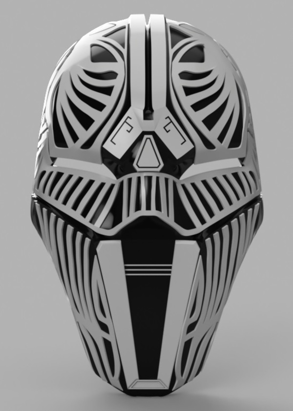 Medium Sith Acolyte Mask (Star Wars) 3D Printing 140026