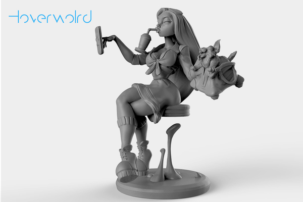 Medium Hoverworld 3D Printing 140043