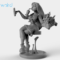 Small Hoverworld 3D Printing 140043