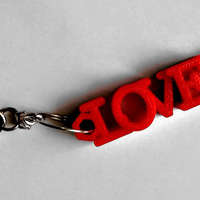 Small LOVE shaped usb flash drive case 3D Printing 140062