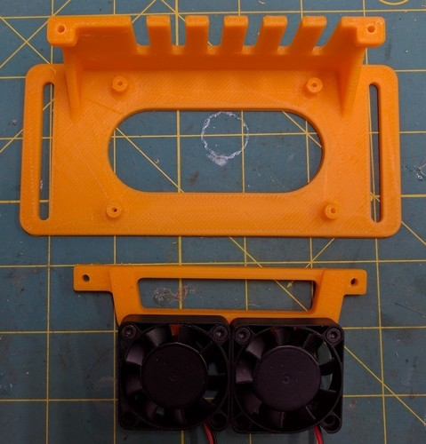 Simple RAMPS 1.4 mount 3D Print 140103