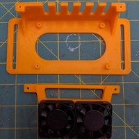 Small Simple RAMPS 1.4 mount 3D Printing 140103