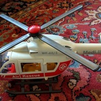 Small Playmobil Rescue Helicopter Tail Rotor 3D Printing 140108
