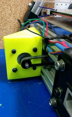 Y-Axis Motor Mount, improved 3D Print 140116