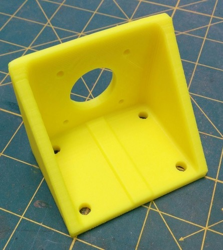 Y-Axis Motor Mount, improved 3D Print 140117