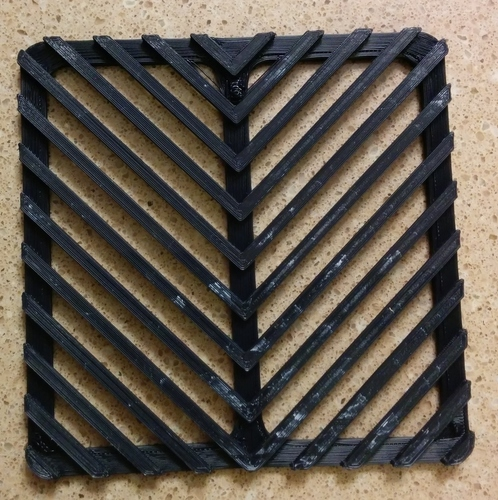 Downspout Filter replacement filter / grate 3D Print 140137