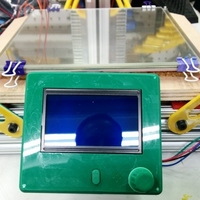Small Snowstock Delta bracket for Pablo's excellent RepRapDiscount LCD 3D Printing 140138
