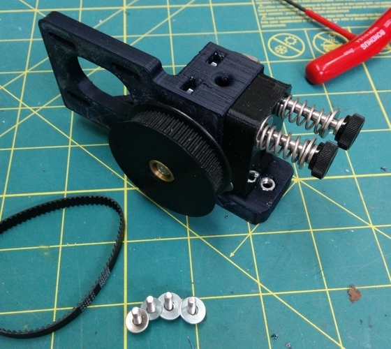 Greg's Wade Accessible Belt Drive Extruder, Rev2 3D Print 140149
