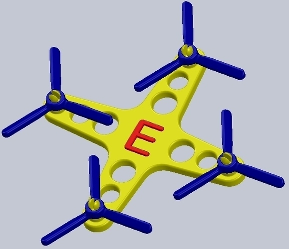 Toy Quadcopter 3D Print 140150