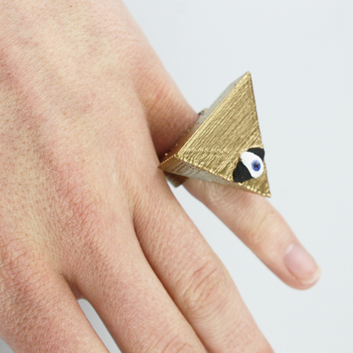 the all seein eye ring 3D Print 14016