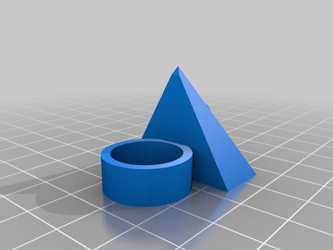 the all seein eye ring 3D Print 14018