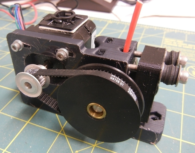 Greg's Wade Accessible Belt Drive Extruder 3D Print 140180