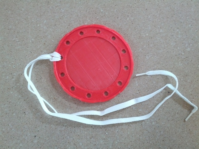 Circular Lacing Toy 3D Print 140193