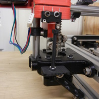 Small Z-axis Lower Motor Mount Support with Integral Z-axis Endstop 3D Printing 140199