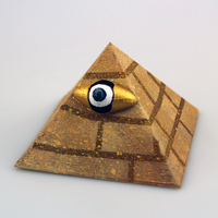 Small the all seeing eye of the pyramid 3D Printing 14025