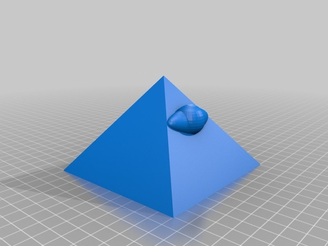 the all seeing eye of the pyramid 3D Print 14027