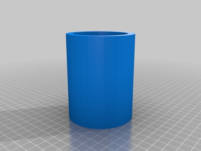 Cup glass for plastic like one I mention which is transparent 3D Print 14034