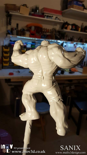 Avengers Scene- The Incredible Hulk  3d model for printing. 3D Print 140411