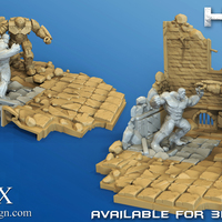 Small Avengers Scene- The Incredible Hulk  3d model for printing. 3D Printing 140417