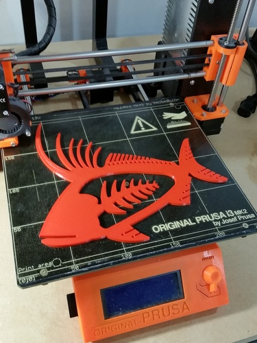 Rooster Fish 3D Print 140459