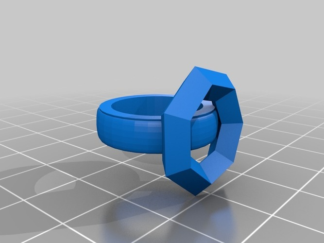 build a ring version 2 two part 3D Print 14054