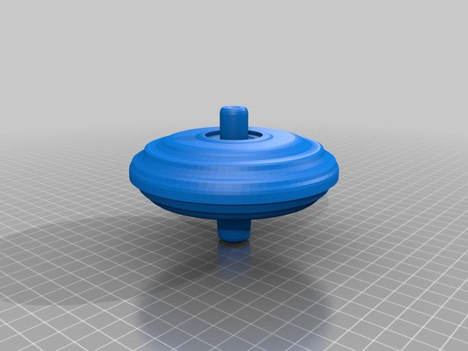 spinning top (1) 3D Print 14057