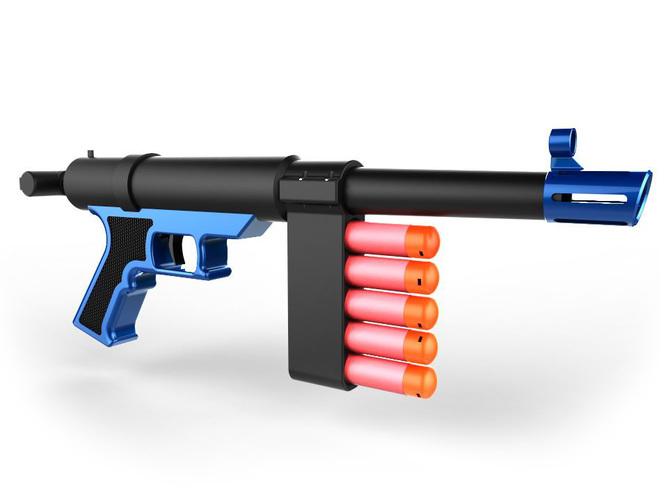 Nerf Sniper SMG 3D Print 140583