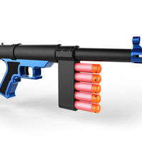 Small Nerf Sniper SMG 3D Printing 140583