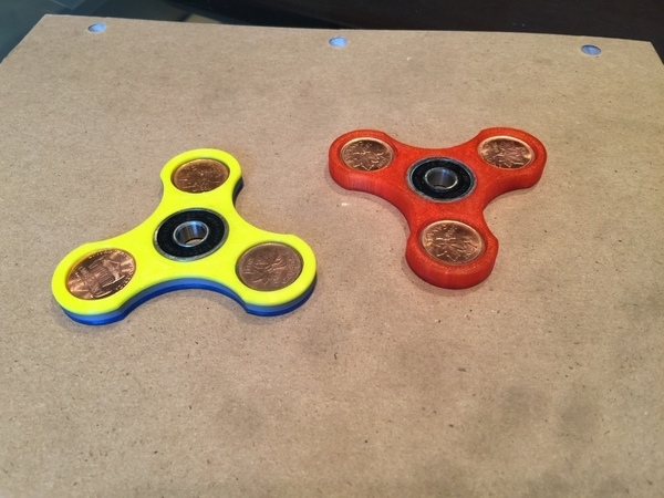 Medium Fidget Spinner 3D Printing 140599
