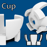 Small Egg Cup 3D Design 3D Printing 140668