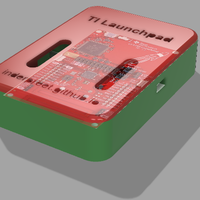 Small TI Launchpad Case Version 1.1 3D Printing 140676