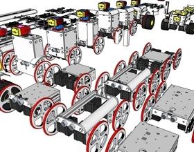 Pin ProfileBlock - DIY Robots Platform - Design Concepts 3D Printing 140679