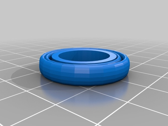 plain ring feel free to remix and add stuff 3D Print 14069