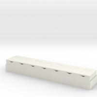 Small Braille Pill Box 3D Printing 140694