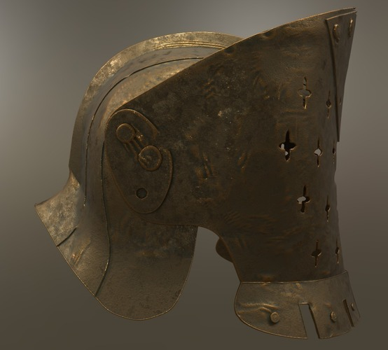 For Honor Lawbringer Helm - Knight 3D Print 140749