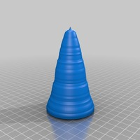 Small 3d printable ice-cream cone- ice-cream holder publish 3D Printing 14075